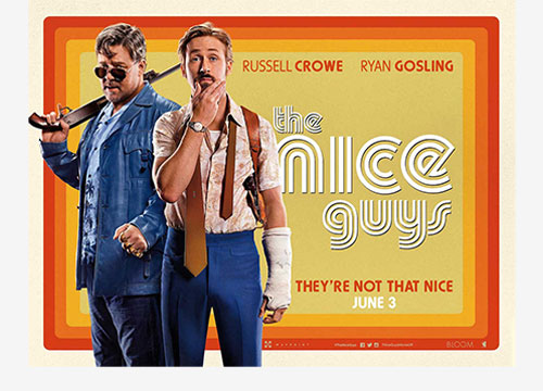 The nice guys locandina